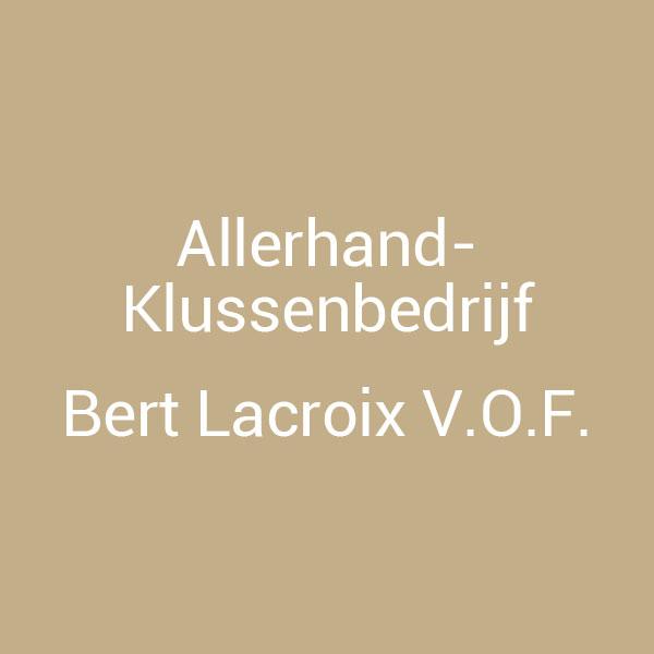 Bert Lacroix