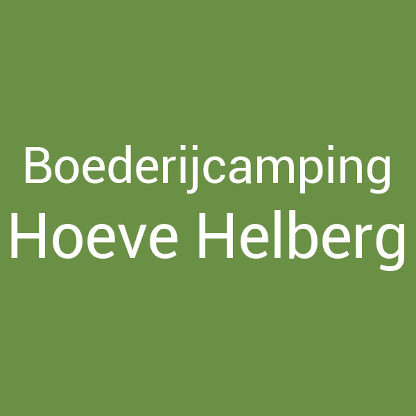 Boederijcamping Hoeve Helberg