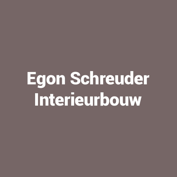 Egon Schreuder Interieurbouw