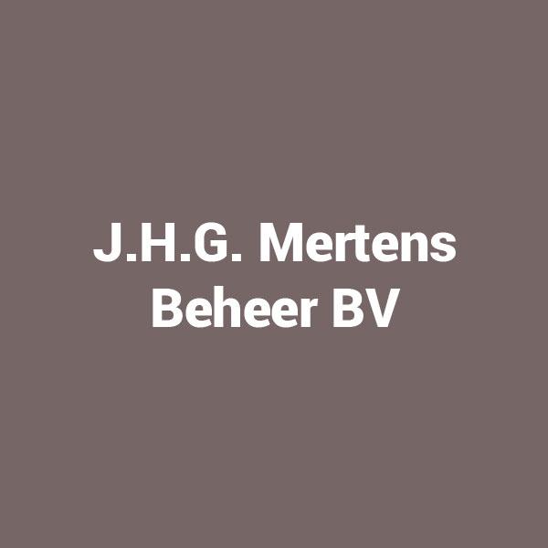 J.H.G. Mertens Beheer BV