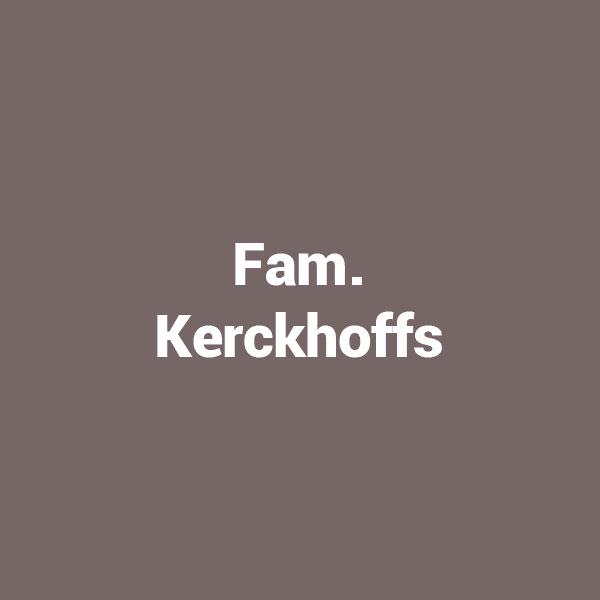 Fam. Kerckhoffs