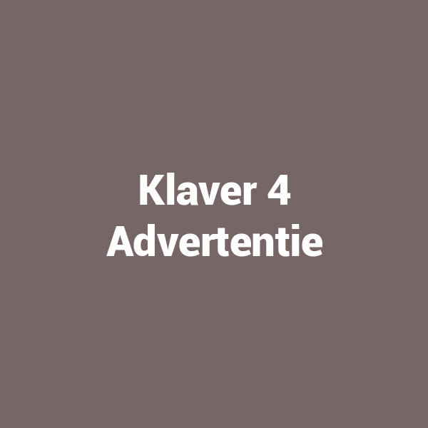 Klaver 4 Advertentie