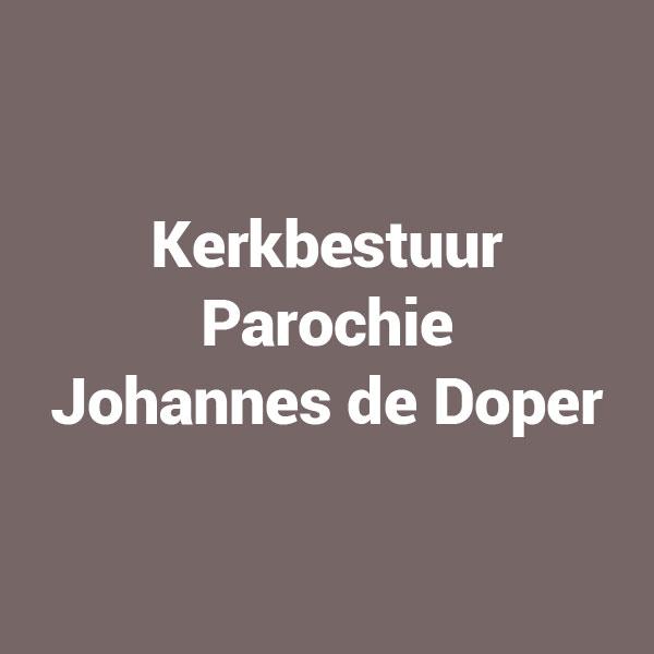 Kerkbestuur Parochie Johennes de Doper