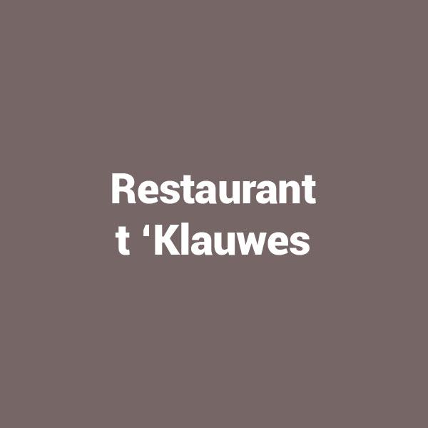Restaurant t'Klauwes