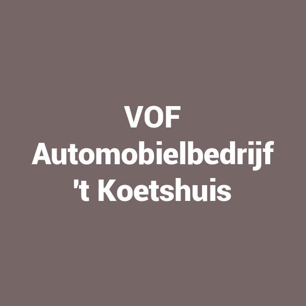 VOF Automobielbedrijf 't Koetshuis