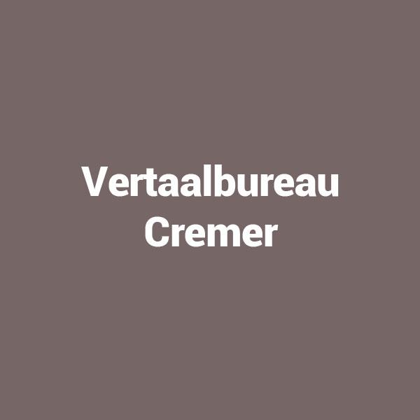 Vertaalbureau Cremer