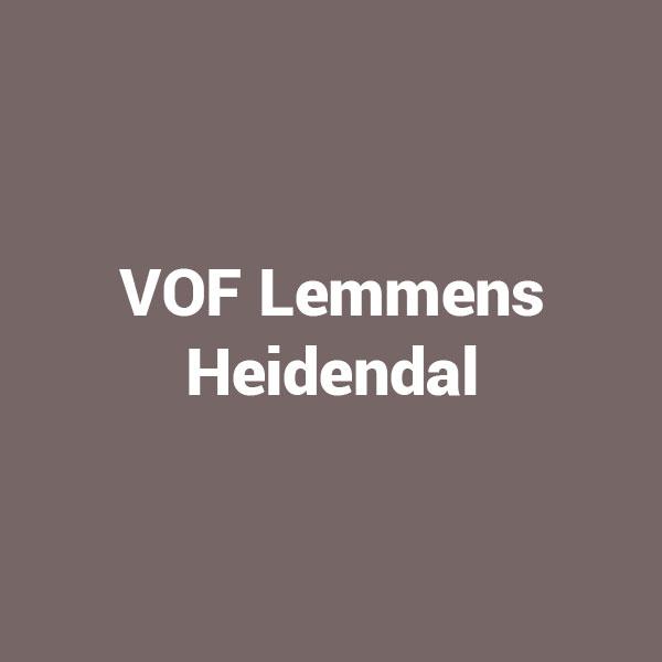 VOF Lemmens Heidendal
