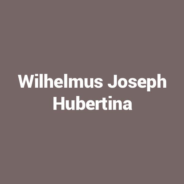 Wilhelmus Joseph Hubertina