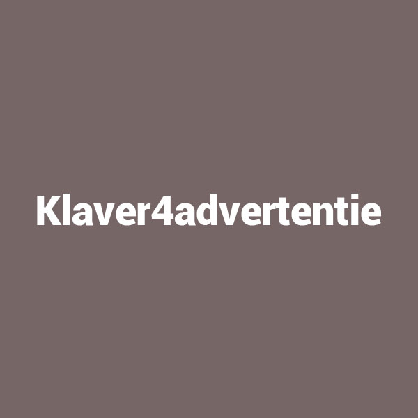 Klaver4advertentie