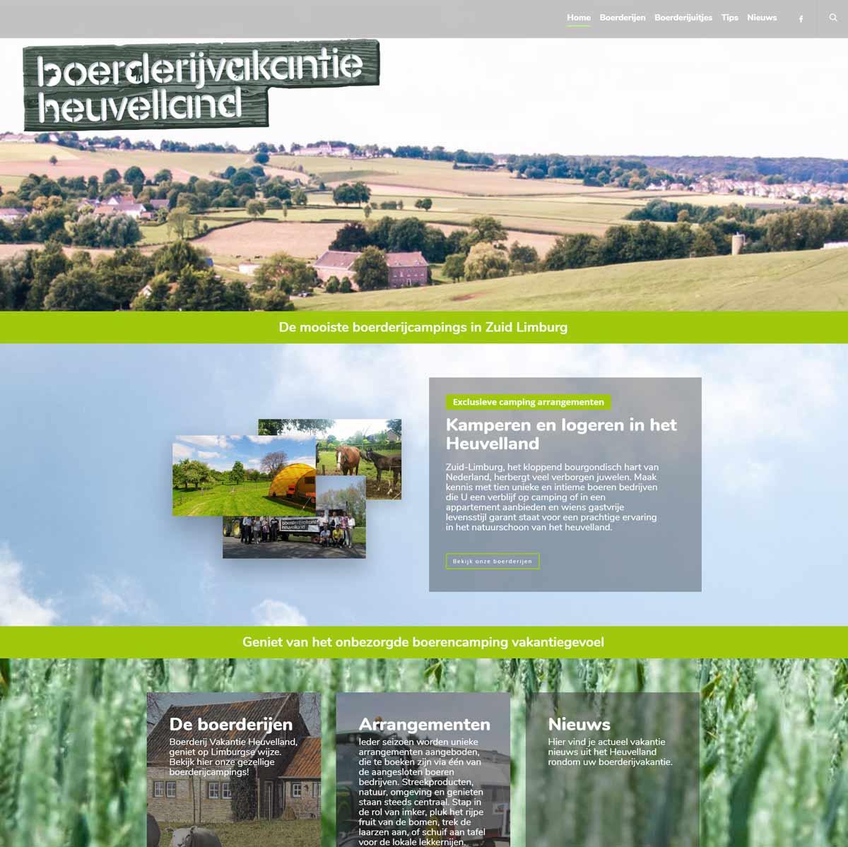 Boerderijvakantie Heuvelland