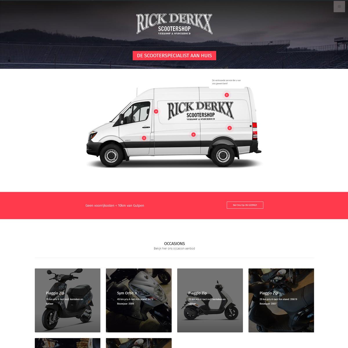 Rick Derkx Scootershop