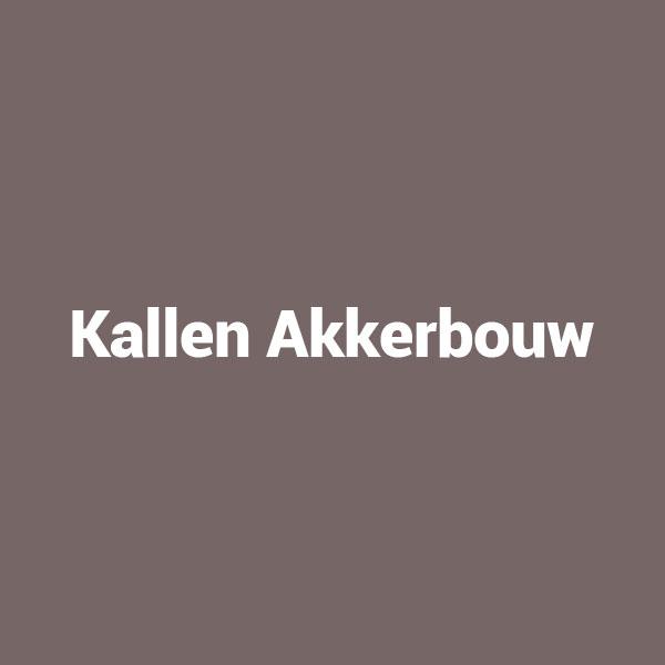 Kallen Akkerbouw