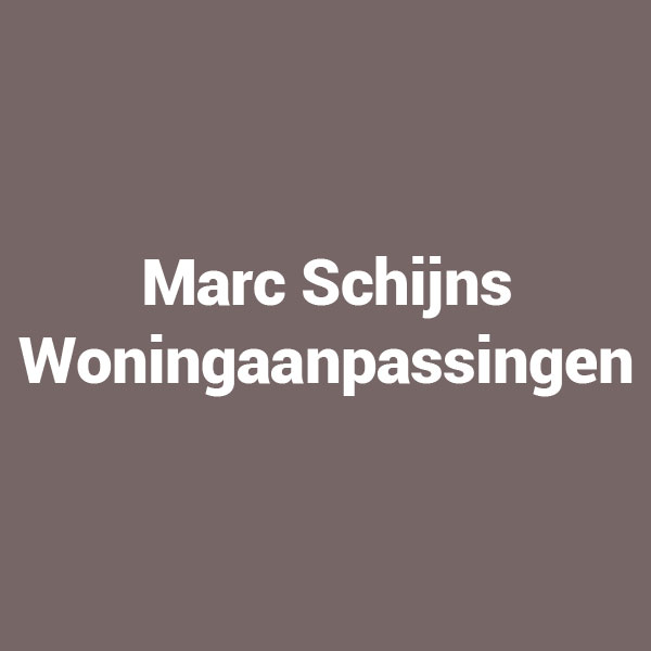 Marc Schijns Woningaanpassing