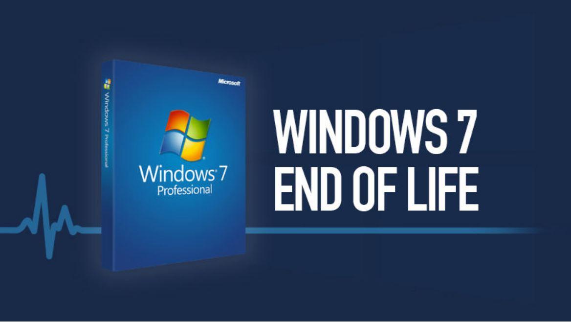 Microsoft: ondersteuning Windows 7 stopt definitief