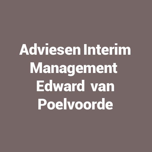 Advies en interim management Edward van Poelvoorde