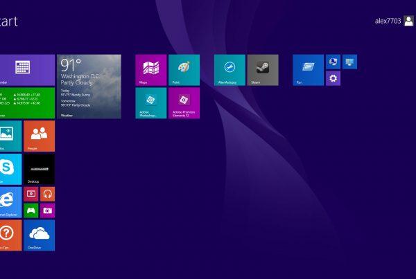 Geen updates meer voor windows 8